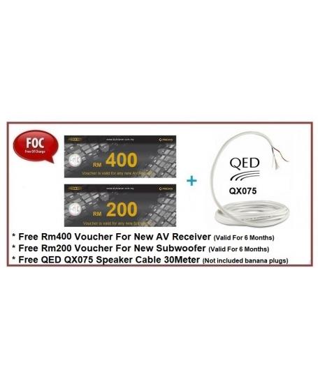Polk Audio Signature S50 + S30 + S15 Speaker Package