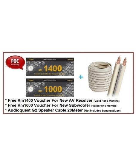 Polk Audio Legend L200 + L400 + L100 Speaker Package