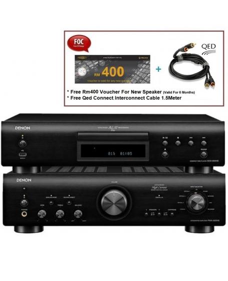 Denon PMA-800NE Integrated Amplifier & DCD-800NE CD Player