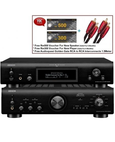 Denon PMA-800NE Integrated Amplifier & DNP-800NE Network Player