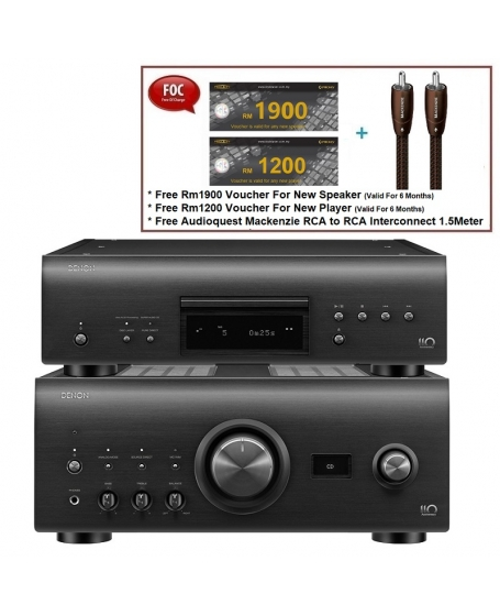 Denon PMA-A110 Integrated Amplifier & DCD-A110 CD Player Made In Japan