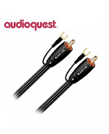 Audioquest Black Lab 3M Subwoofer Cables (Opened Box New)