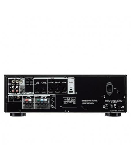 Denon AVR-X250BT 5.1Ch 4K Bluetooth AV Receiver (DU)