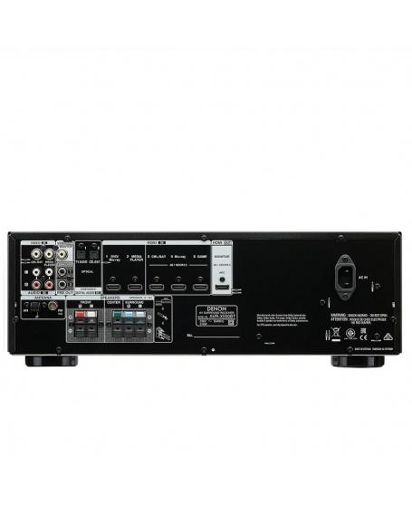 Denon AVR-X550BT 5.2CH AV Receiver (DU)