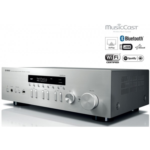 yamaha r n402 musiccast hi fi network receiver. Black Bedroom Furniture Sets. Home Design Ideas