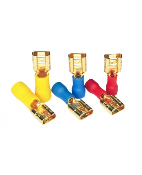 Furutech F118(G) Disconnect Terminals Insulated Push-on Disconnects