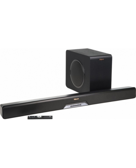 Klipsch Reference RSB-11 Sound Bar with Wireless Subwoofer