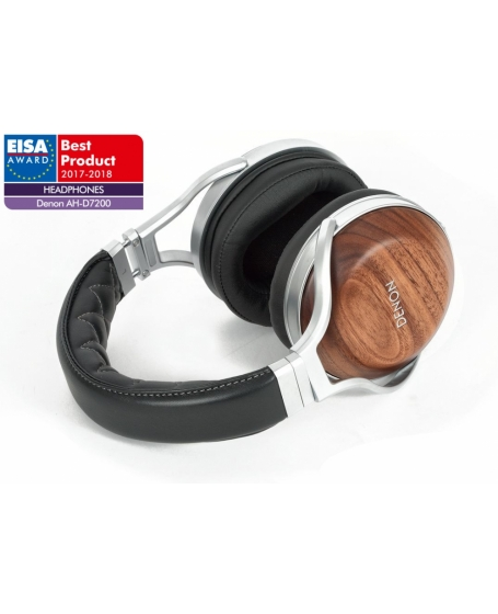 Denon AH-D7200 Reference Over-Ear Headphones with Denon unique FreeEdge Driver