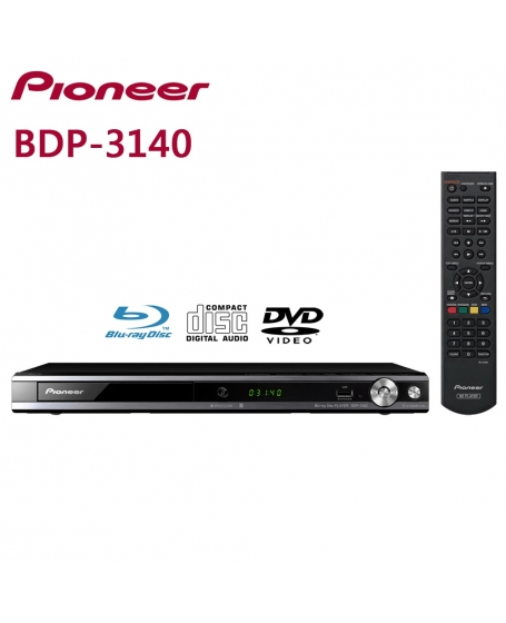 Pioneer BDP-3140 Blu-ray Disc Player